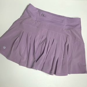 Lululemon Circuit Skirt Women Sz 4 Tall